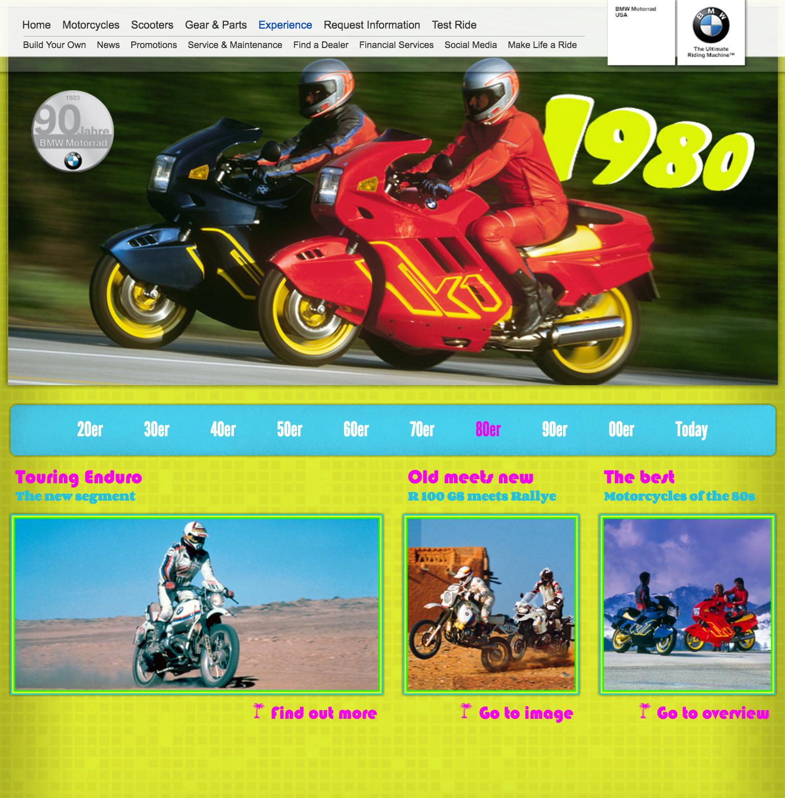 BMW MOTORRAD 90 YEARS OF MOTORCYCLES