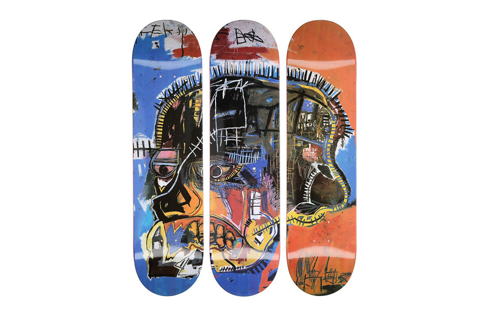 JEAN MICHEL BASQUIAT BOARDS