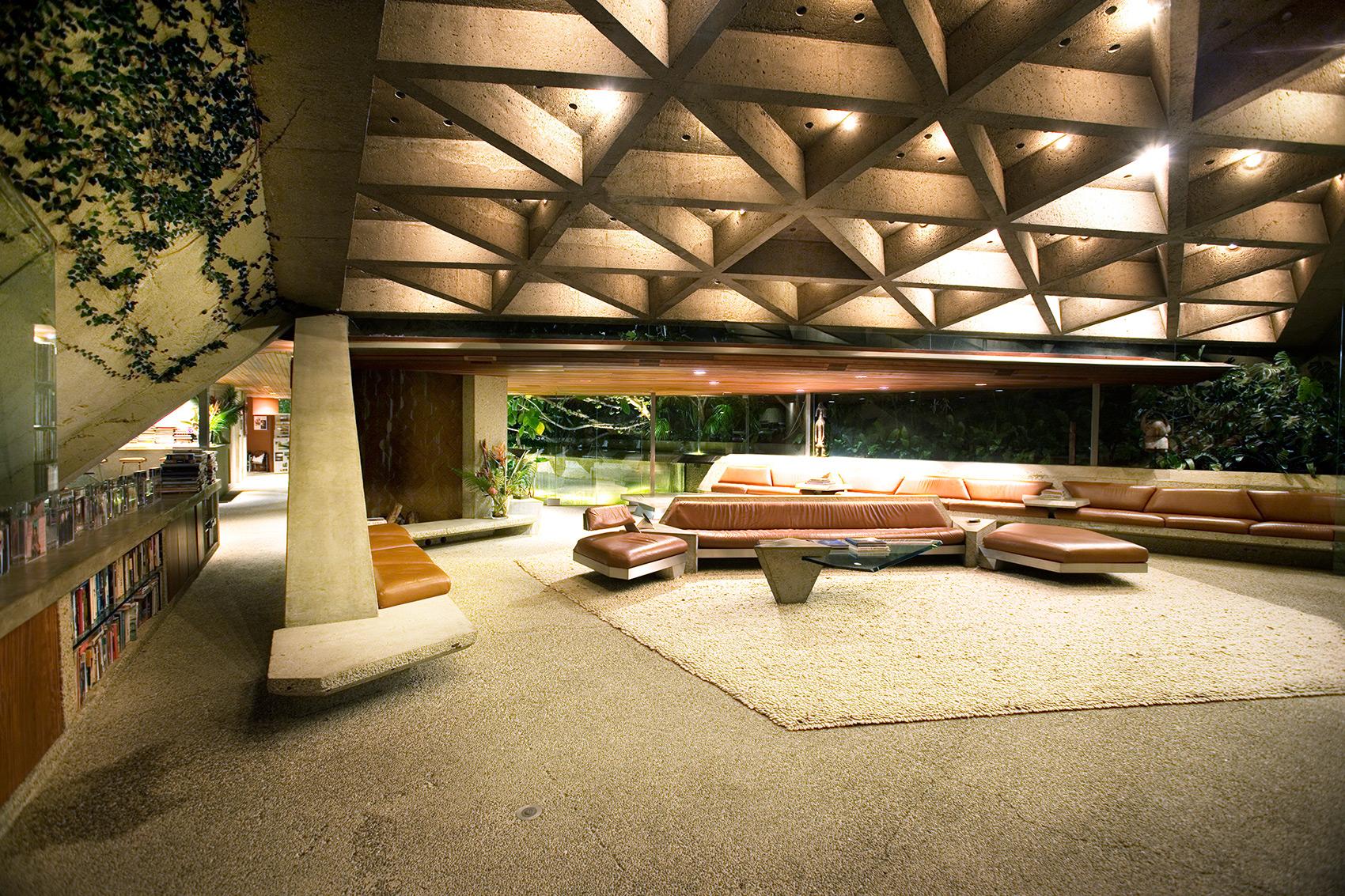 John Lautner Goldstein House Gifted The Rebel Dandy