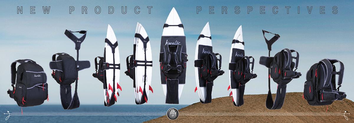 Koraloc Surfboard Backpack