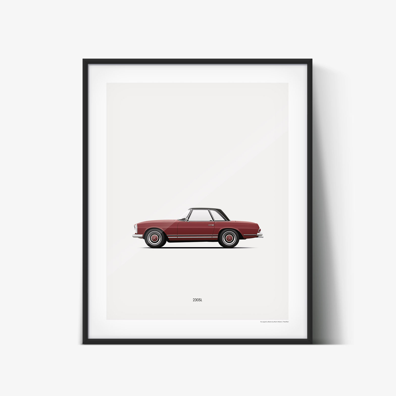PETROLIFIED CLASSIC CAR POSTERS