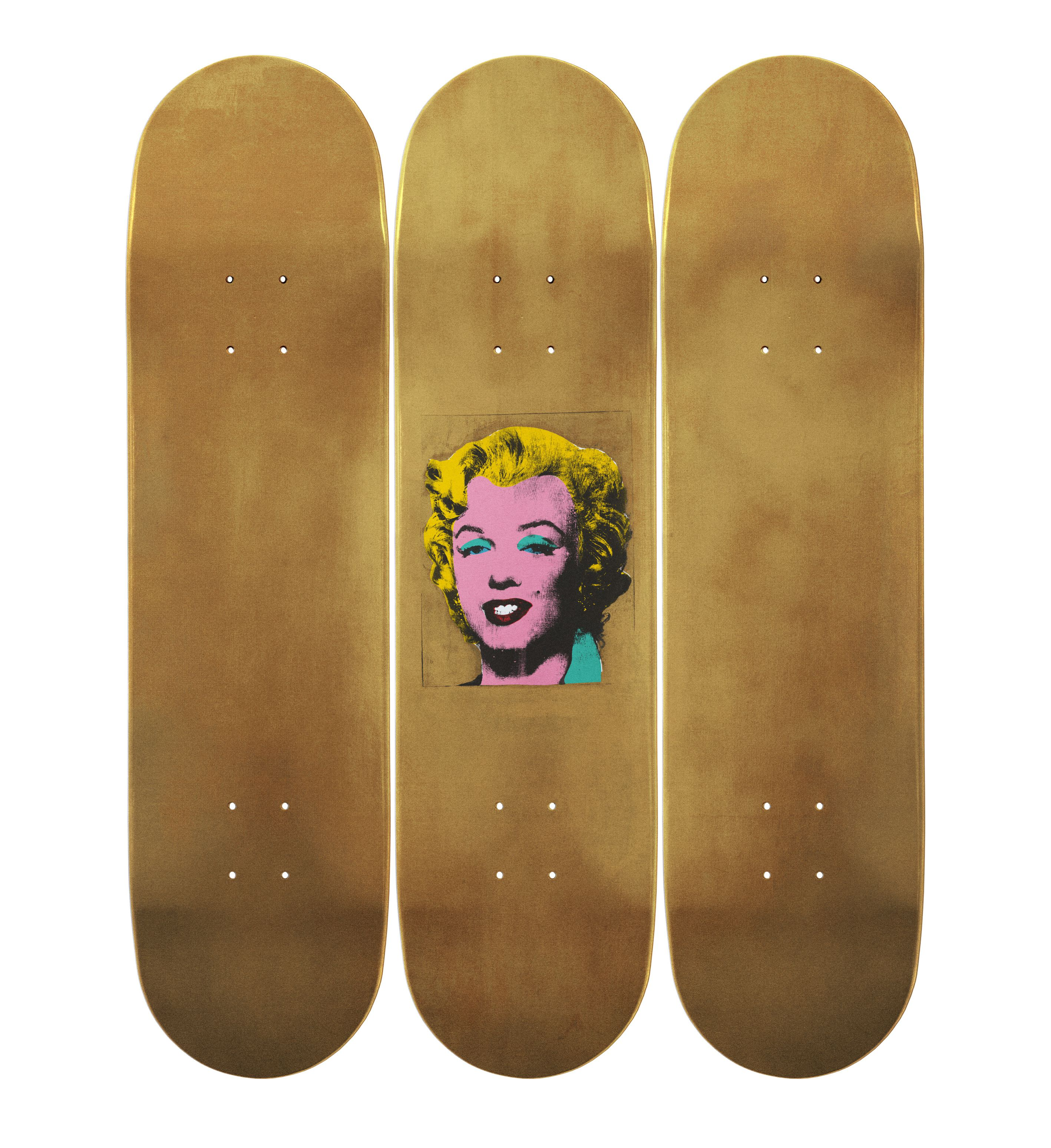 ANDY WARHOL SKATEBOARD DECKS - The Rebel Dandy
