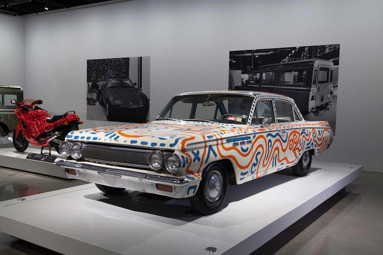 Keith Haring Car Exhibition