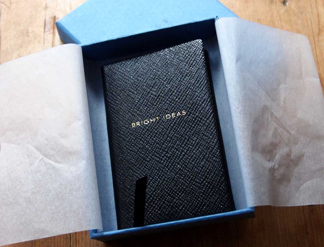the best attitude 8a605 cb6b7 SMYTHSON CROSS-GRAIN LEATHER diary - The Rebel Dandy