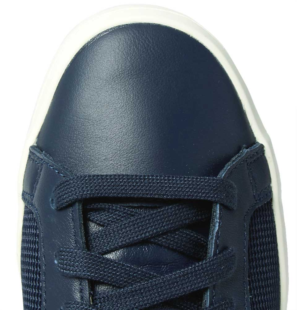 Adidas Originals Court Vantage Leather And Mesh Sneakers