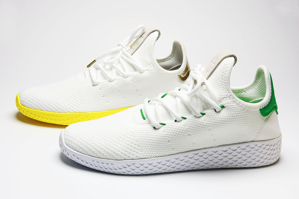 taille 40 3bab9 2b063 Adidas Pharell Williams tennis Hu - The Rebel Dandy