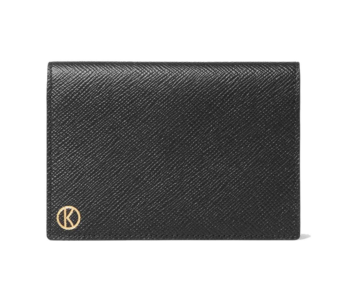 LEATHER TRAVEL WALLET - KINGSMAN BY SMYTHSON