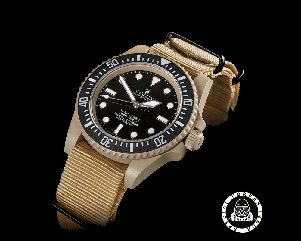 Rolex Submariner Desert Issue