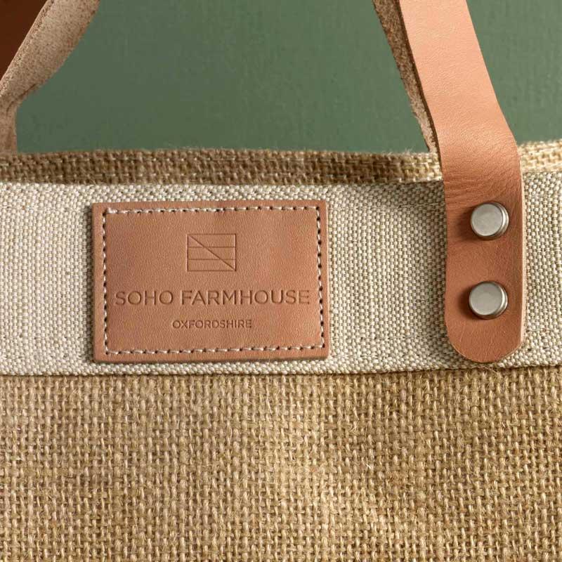 FARMHOUSE TOTE BAG BY SOHO HOME