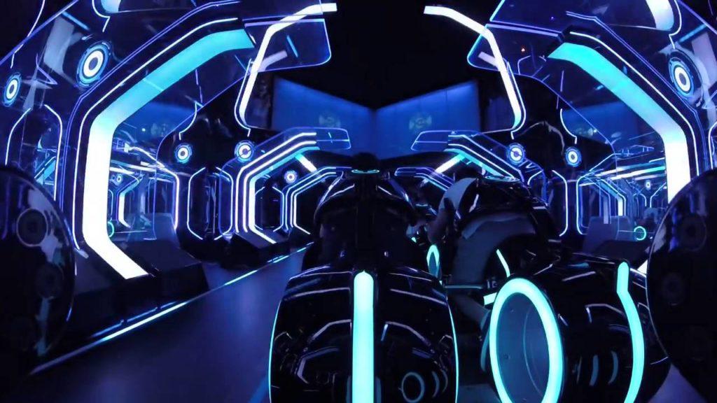 Tron Coaster