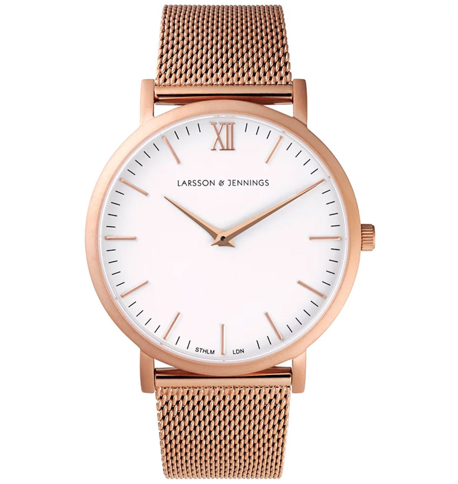 Christmas gift ideas for him and her- Larsson Jennings watch