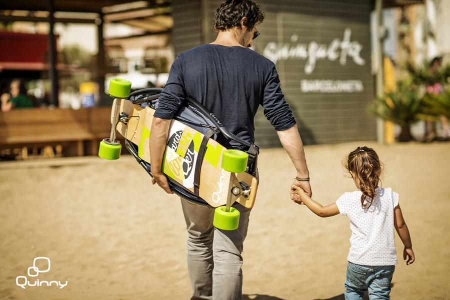 Quinny Longboardstroller - Longboard