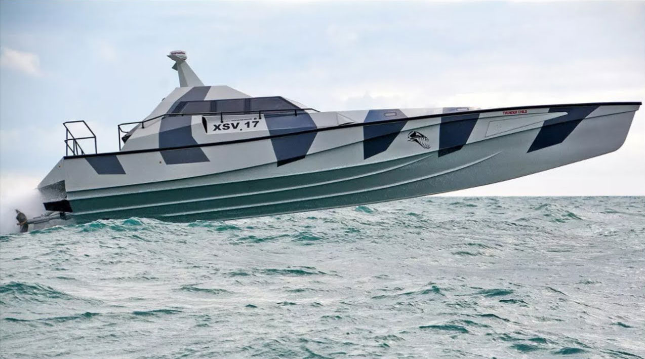 Remote Control Skateboard >> Stealth Boat that can self-right if capsized - The Rebel Dandy